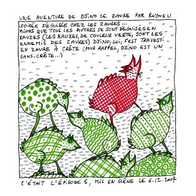 Dino le zaure - Rugueu