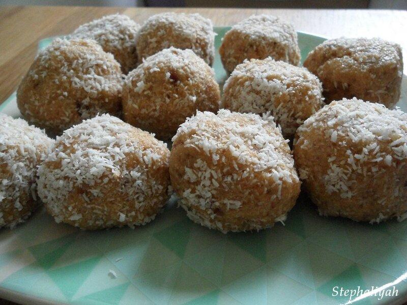 Bouchées noix de coco - 4