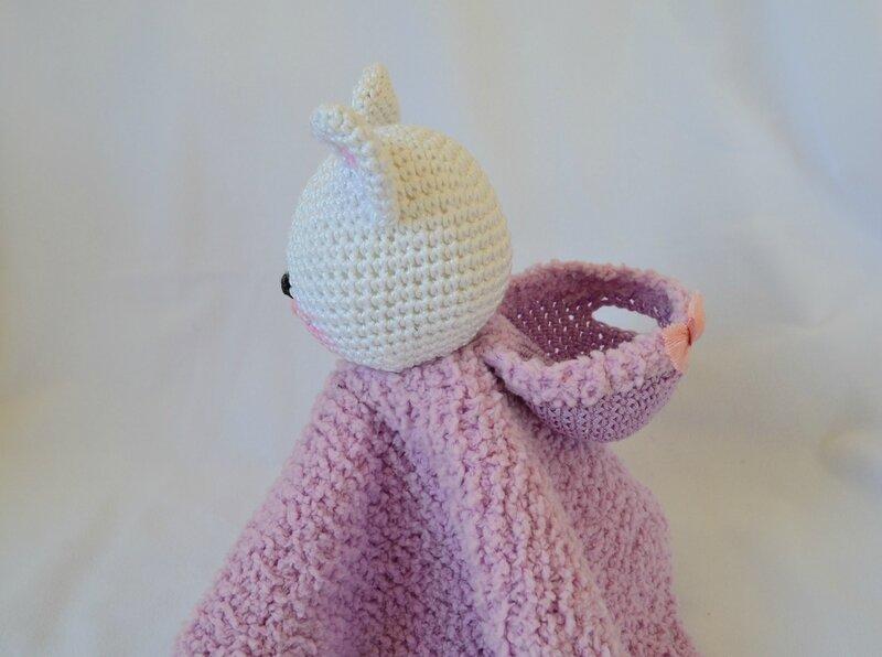 Chatminette, tuto, doudou, crochet, tricot, laine, fil, couture, La chouette bricole