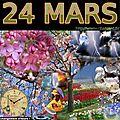 mois de MARS 24