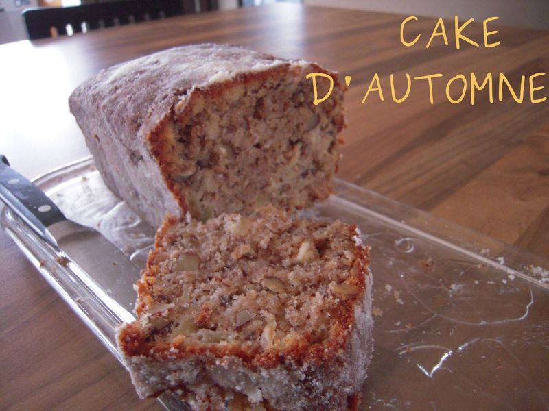 Cake Pomme Noix Thermomix