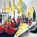 Venise 5 : Composition à partir de trois vues de Venise