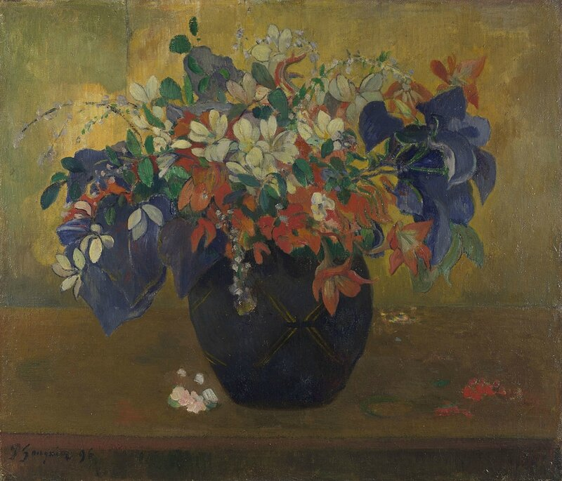 Paul Gauguin, 'A Vase of Flowers, 1896