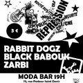 Concert 19 janvier Zarbi Rabbit dogz Black babouk