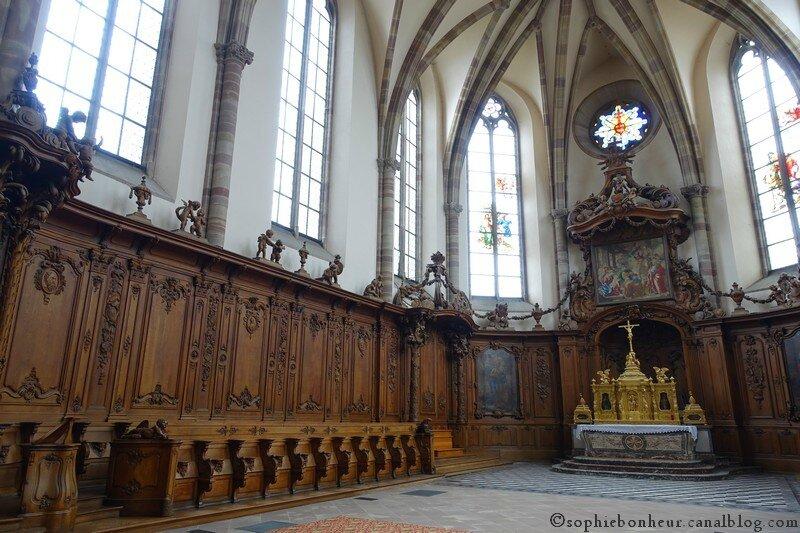 marmoutier église choeur