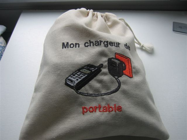 sac fils chargeur