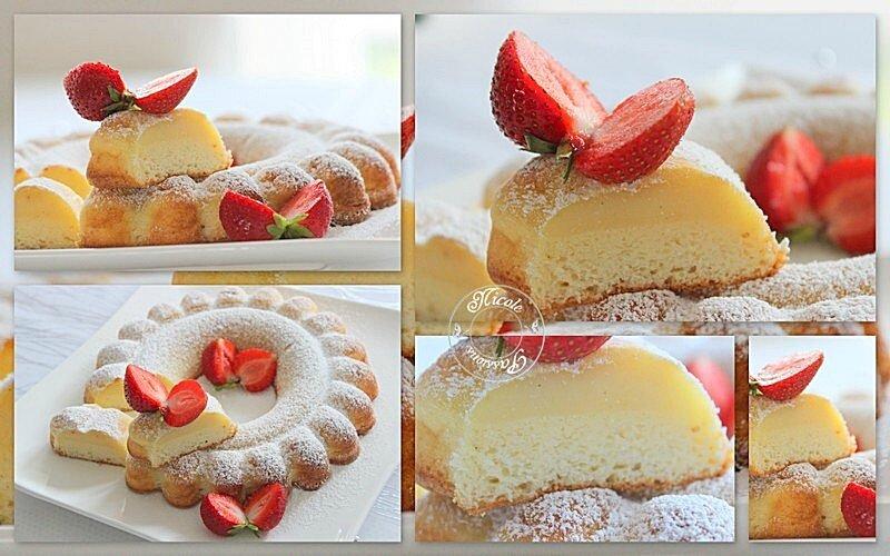 Gâteau magique à la vanille....Une tuerie!!!!!!