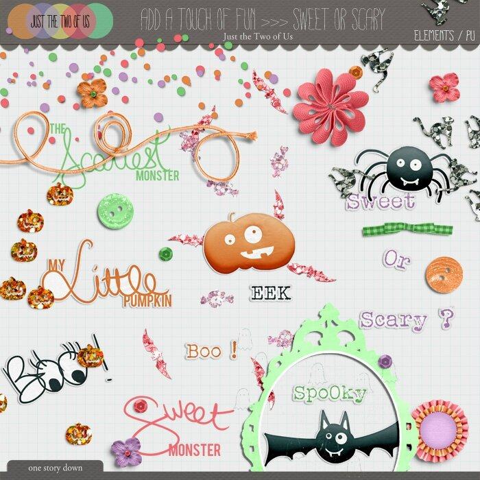 _Sweet or Scary Preview elements