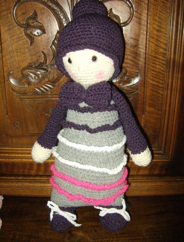 poupée russe avec chignon dec 2016