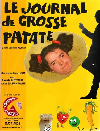 affiche de grosse patate copie