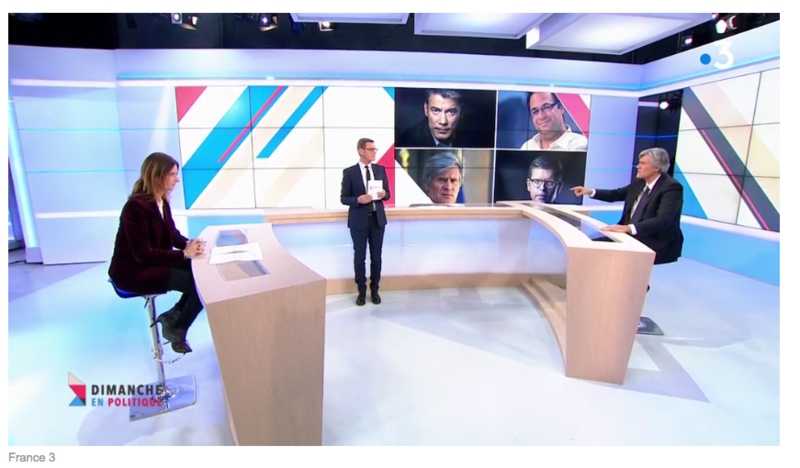 LES 4 CANDIDATS DU PS MEDIA DIXIT WORLD
