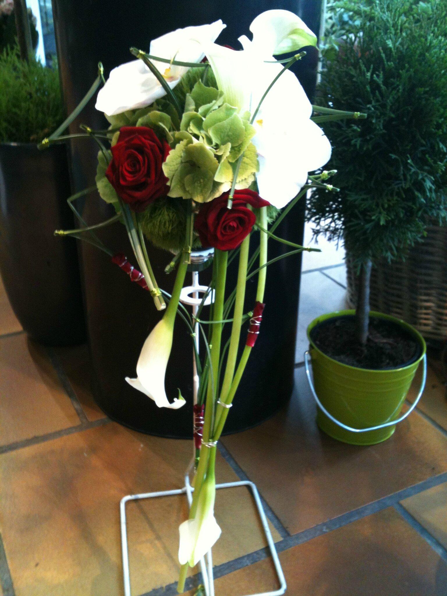 Le bouquet structuré