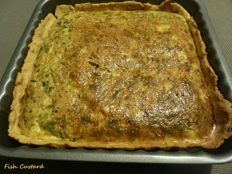 Quiche à l'avocat antillaise (5)