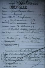 19190914 MDH Jean François Marie Q Famille Saint Thegonnec Rimpiriou