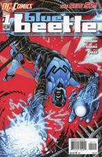 blue beetle 1 2nd print