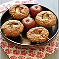 Muffins pomme-gingembre  la farine d'avoine