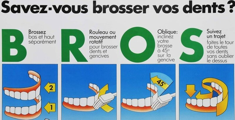 brossage de dents