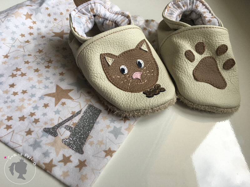 Chaussons Chat 3