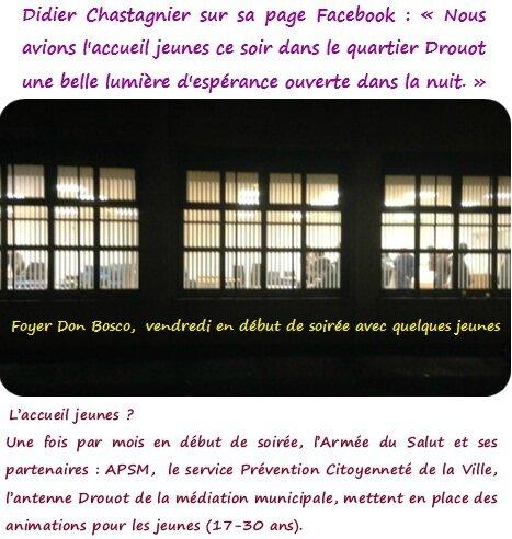 Quartier Drouot - Accueil jeunes