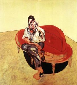 Bacon, Portrait of Lucian Freud 1965
