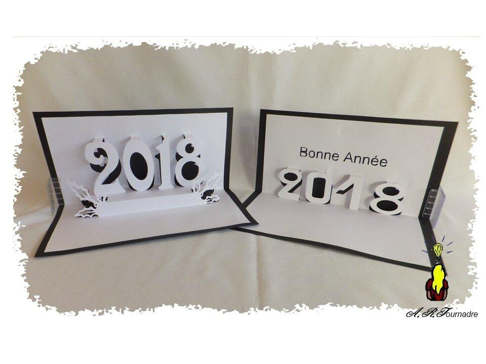 Cartes Kirigami Mes Modèles à Télécharger Pour La Bonne Année 2018