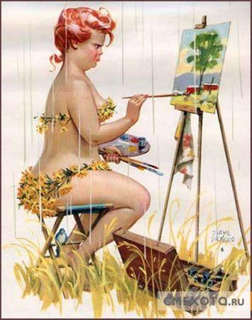 Hilda_peinture