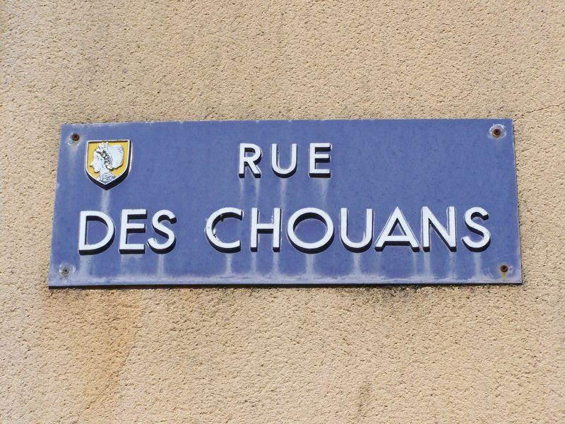 Chambretaud (85), rue des Chouans