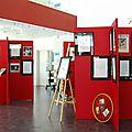 Exposition été 2016 bibliothèque léon deubel : sport et littérature, les terrifortains ayant participés aux jeux olympiques