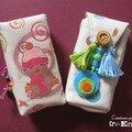 Petits sacs a mouchoirs colores