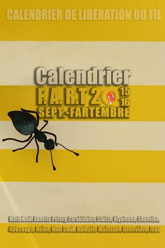 Calendrier F.A.R.T 2015/16
