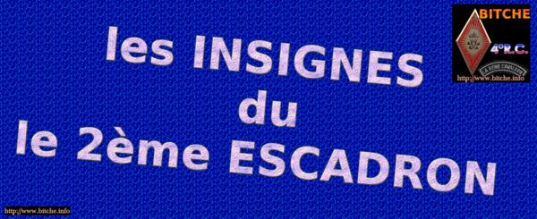 les INSIGNES DU 2ème ESCADRON 002