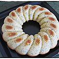 Gâteau moelleux au citron et graine de pavot