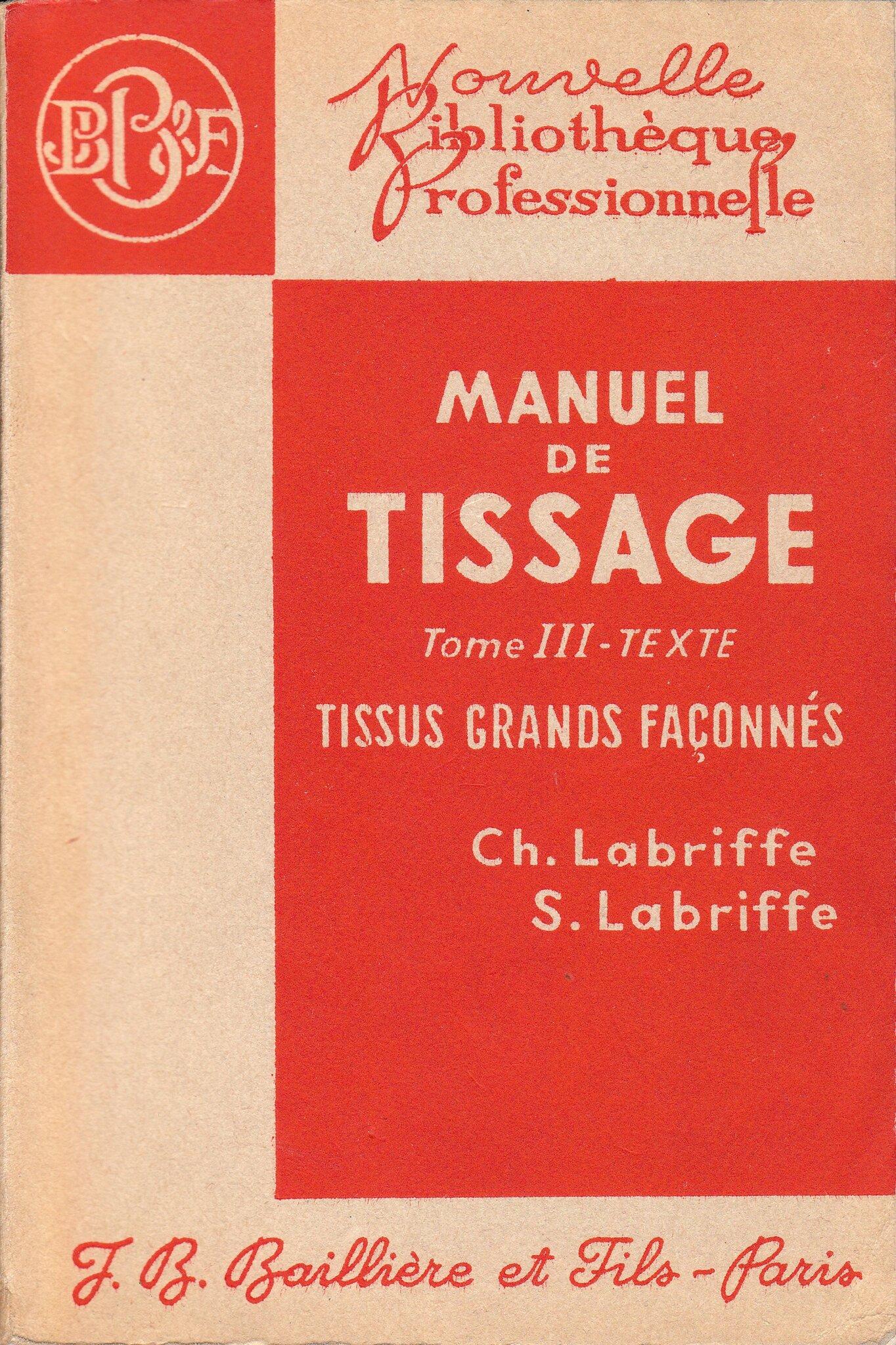 manuel de tissage tome 3