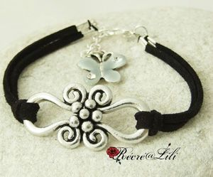 bracelet-noir-papillon