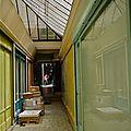Pittoresque passage Saint-Anne.