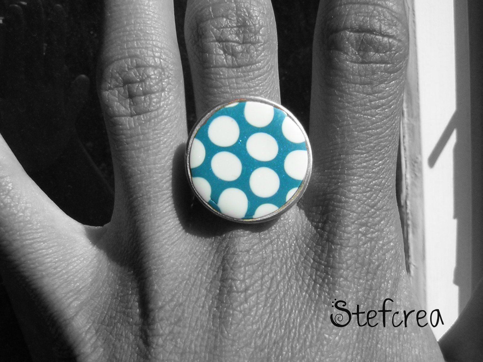 bague_pois_turquoise