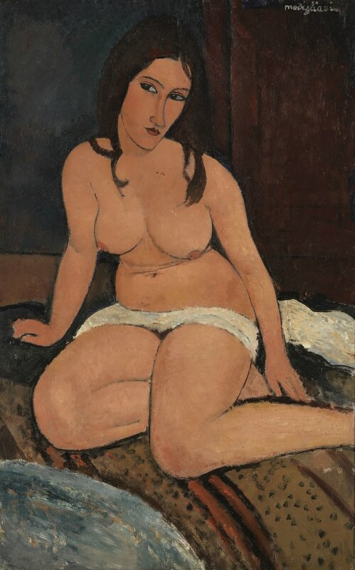Seated Nude, 1917