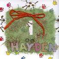 anniversaire Hayden