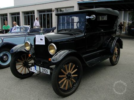 Ford model t touring 1926 Internationales Oldtimertreffen de Gundelfingen 2011 1