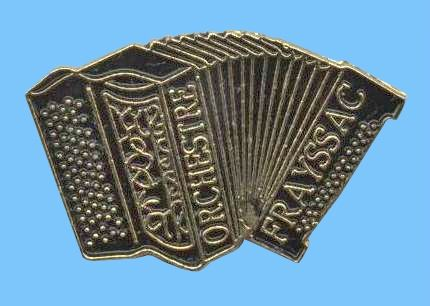 Accordéon Pin's Freyssac