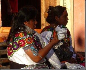 Tzotzile Frauen, San Cristobald