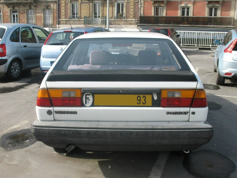 VolkswagenPassatB2Car
