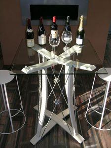 mobilier pour cave à vins,meubles de cave à vins, aménagements de caves à vins,rangement pour bouteilles,support bouteille, porte bouteilles design, porte bouteilles mural, table de créateur,eric daout