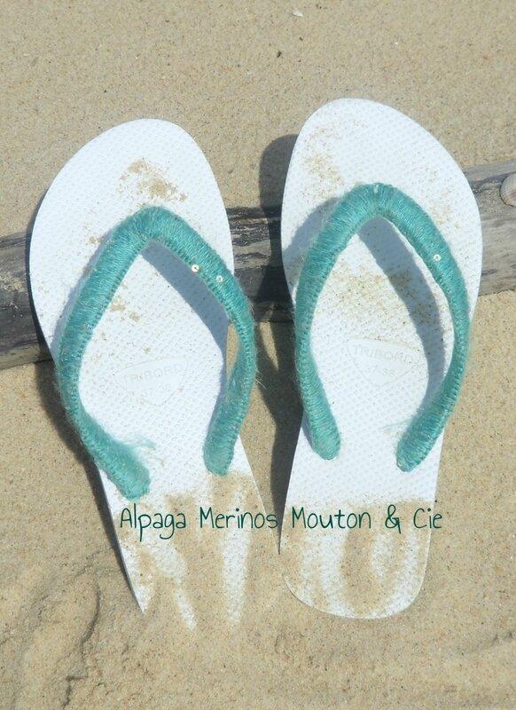 Sandales Customisées AMM&Cie