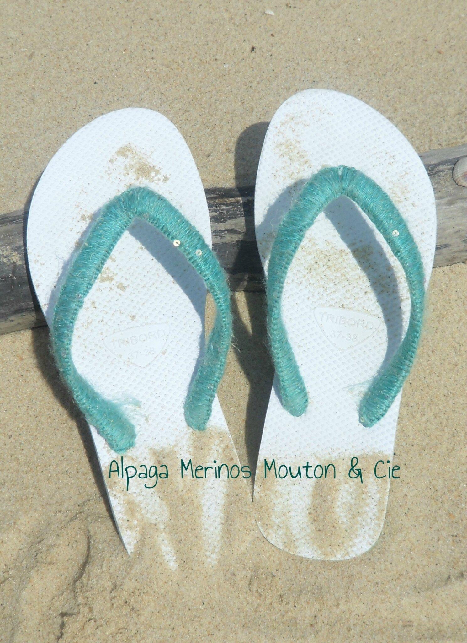 Les doigts de pieds en éventail
