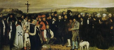 Courbet__enterrement___ornans__1849