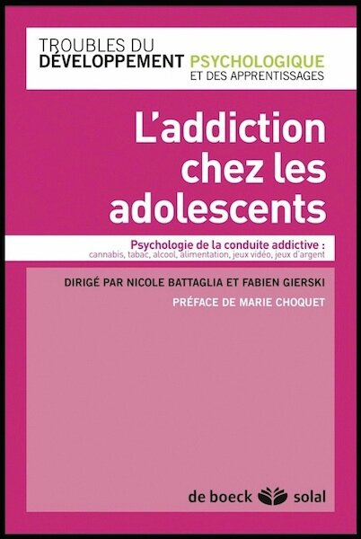 l addiction chez les adolescents