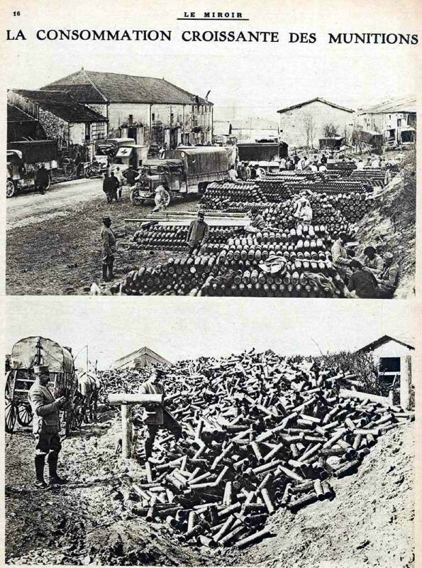 les munitions à Verdun-1