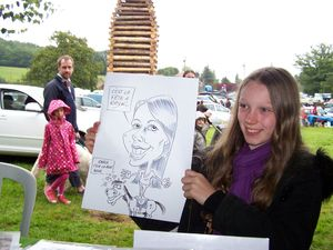 Caricature en direct BOURSIER