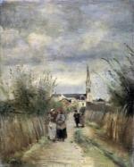Corot, St Denys d'Argenteuil en 1870